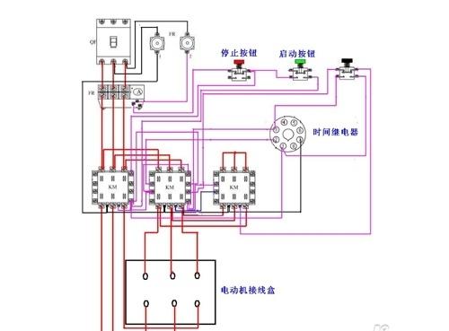 继电器线圈接线